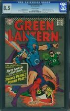 Green Lantern #45 CGC 8.5 -- 1966 -- 2nd app Golden Age Lantern #0220259004