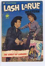 Lash Larue Western #31 Fawcett Pub. 1952