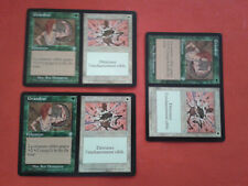 3x GRANDEZZA DECADENZA WAX WANE INVASIONE CARTOLINA MAGIC MTG RARA VF