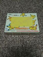 Nintendo NEW 3DS XL Pokemon Pikachu Yellow Edition Fast shipping US version MINT