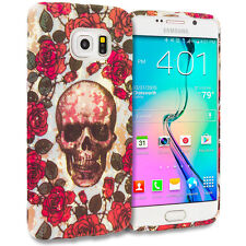 For Samsung Galaxy S6 Edge TPU Case Soft Silicone Skin Cover Red Gorge