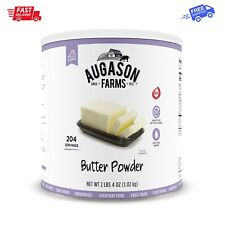 Augason Farms Butter Powder 2 lbs 4 oz No. 10 Can, 204 Servings Food Storage NEW