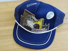 EXPRESS MAIL NEXT DAY SERVICE MESH TRUCKER HAT SNAPBACK CAP