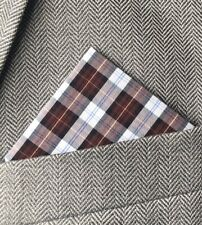 Premier Mens Tartan Handkerchief Set B