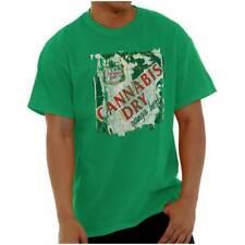 Cannabis Dry Funny Marijuana Stoner Ganga Ale Short Sleeve T-Shirt Tees Tshirts