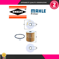 OX156D Filtro olio Bmw-Land Rover-Opel (MARCA-KNECHT,MAHLE)