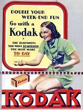 Kodak, metallo segno, Man Grotta, Regalo