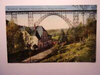 Ansichtskarte Remscheid MÜngstener Brücke mit Haus Bergische Schweiz  (Nr.674)