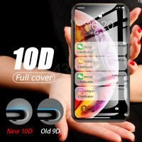 10D Full Cover Real Tempered Glass Screen Protector For iPhone XS MAX XR 8 7