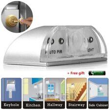 Auto PIR Sensor Infrared IR Motion Detector Door Keyhole LED Light + AA Battery
