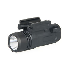 Quick Release Led Flashlight Cree 20mm Picatinny/w Rail for Glock 17 19 21 22 23