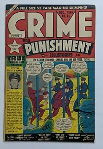 Crime And Punishment #21 (Dec 1949, Lev Gleason) F/VF 7.0 Charles Biro cover