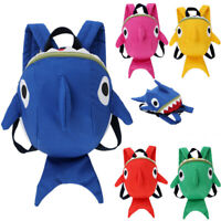 Child Baby Girls Boys Kids Cartoon Animal Backpack  Shark Toddler School Bag