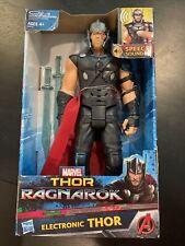 "Marvel Legends Avengers Thor Ragnarok Electronic 12"" Action Figure, Hasbro - NEW"