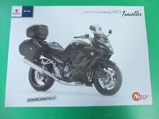 Moto Suzuki GSX 1250 fa sportourer pubblicita brochure depliant prospect gsx1200