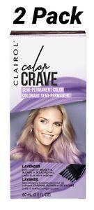 Clairol Color Crave Semi-Permanent Hair Color Lavender 2 Pack