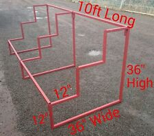 MARKET STALL METAL DISPLAY STAND 10' LONG (FOR ANY SHOP DISPLAY)