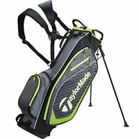 TaylorMade Pro Stand 6.0 Golf Bag, Charcoal, One Size