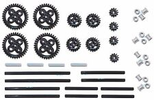 LEGO Technic 42pc Double Bevel gear axle pack SET lot (12,20,36 tooth,bushings)