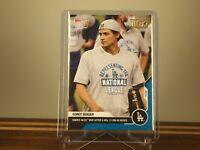 Corey Seager - MLB TOPPS NOW Card 444 - NLCS MVP Blue 03/49 Foil Parallel