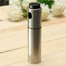 Kitchen Tool Stainless Steel Olive Oil Bottle Mister Spray Spraying Sprayer Pot