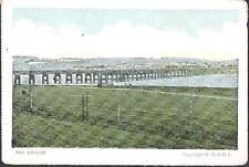 Dundee - Tay Bridge - postcard by GD & DL - c.1905-10