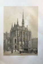 LITHOGRAPHIE LA SAINTE CHAPELLE IN FOLIO 1861