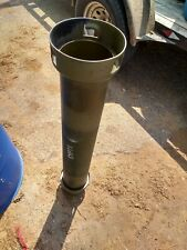 155mm Artillery Canisters. Air And Water Tight. Food ammunition supply cache