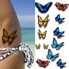 13 Small Butterfly Temporary Tattoos Women Kit Temp 3d Butterflies Tattoo Wings