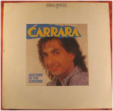 Carrara, Welcome to the sunshine, G/VG   EP Maxi Single (3363)