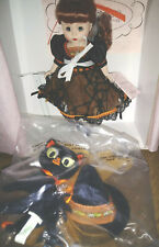 "New ListingMadame Alexander Rare 8"" Wendy Boo-rific Halloween Witch Collectible Doll Nib"