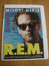 MELODY MAKER 1988 OCTOBER 29 EM U2 HUMAN LEAGUE SISTERS OF MERCY SKINNY PUPPY