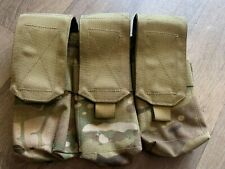 Airsoft easy access triple multicam mag pouch molle