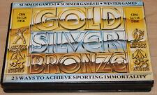 epyx Gold Silver Bronze Commodore 64 C64 Leerbox!