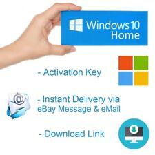 Microsoft Windows 10 HOME KEY 32-64 Bit OEM Product MS Win Activation Schlüssel