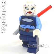 SW435 Lego Republic Attack Gunship Asajj Ventress Minifigure (No Skirt) 7676 NEW
