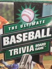 The Ultimate Baseball Trivia Board Game outset media