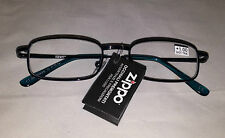 Zippo Stylish Unisex Reading Glasses Blue Frames +1,00+1,50+2,00+2,50+3,00+3,50