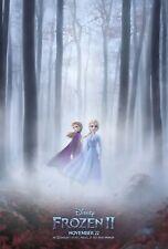 Frozen 2 Movie Poster (24x36) - Anna, Elsa, Olaf, Kristoff, Bell, Menzel, Gad v1