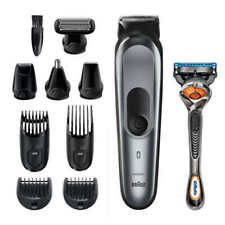 Braun All in One Trimmer 7 Barber Hair Clippers 10 In 1 Shave & Trim Kit