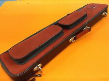 TRUJILLO CUE CASE 4x8 RED SUEDE