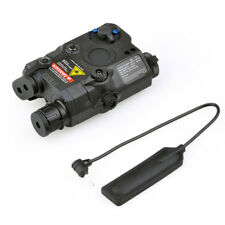Airsoft LA-PEQ15 Flashlight Tactical Red/IR laser Led PEQ15 Light Hunting Torch