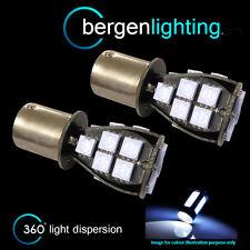 382 1156 BA15S 245 Xenon weiß 18 SMD LED Hinter- Blinker Glühbirnen ri201201