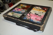 Cotton Embroidery Skeins Kloster Assorted Lot with Case & Glass Cover