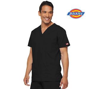81906 Scrub Top Mens 3-Pocket, ID Loop, Interior Phone Pocket Nurse Medical Top