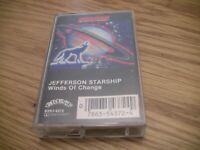 Jefferson Starship Winds Of Change cassette tape Classic
