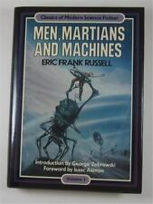 MEN MARTIANS AND MACHINES ERIC FRANK RUSSELL 1984 CROWN 1ST ED DJ REVIEW COPY