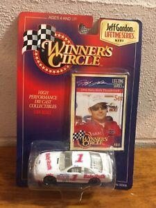 Winner's Circle Jeff Gordon Lifetime Series Baby Ruth 4 Of 6 New Nascar 1/64