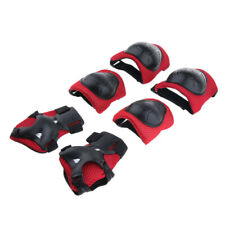 6Pcs Protective Gear Set Elbow Knee Palm Pads for Kids Skateboarding Cycling
