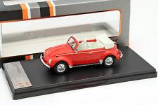 Volkswagen VW Käfer Cabriolet Baujahr 1973 rot 1:43 PremiumX